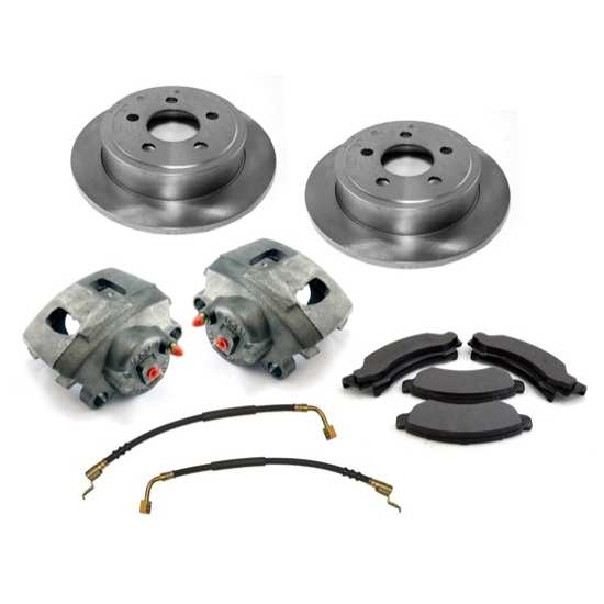 For Jeep Wrangler 2000 2006 Replace 2a34 Remanufactured: OMIX-ADA Jeep Wrangler TJ/LJ 00-06 Front Premium Disc