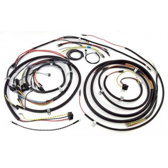 Omix Ada Wiring Schematic: OMIX-ADA Jeep CJ3A 48-53 Wiring Harness (With Turn Signals