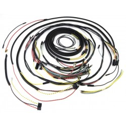 OMIX-ADA Jeep CJ5 55-56 Wiring Harness (With Cloth Wire Cover)