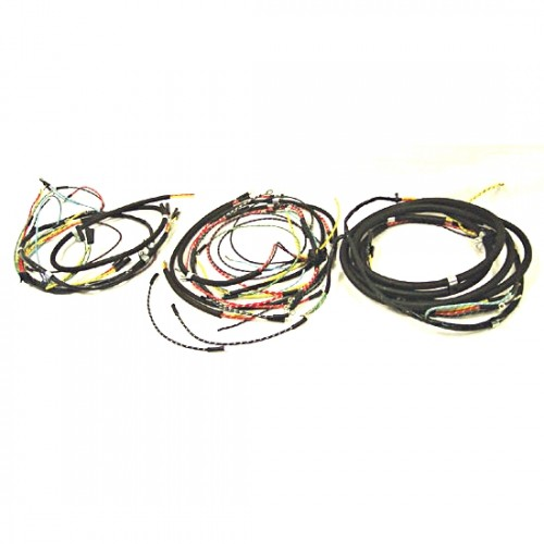Omix Ada Wiring Schematic: OMIX-ADA Jeep CJ2A 47-49 Wiring Harness (Horn On Firewall