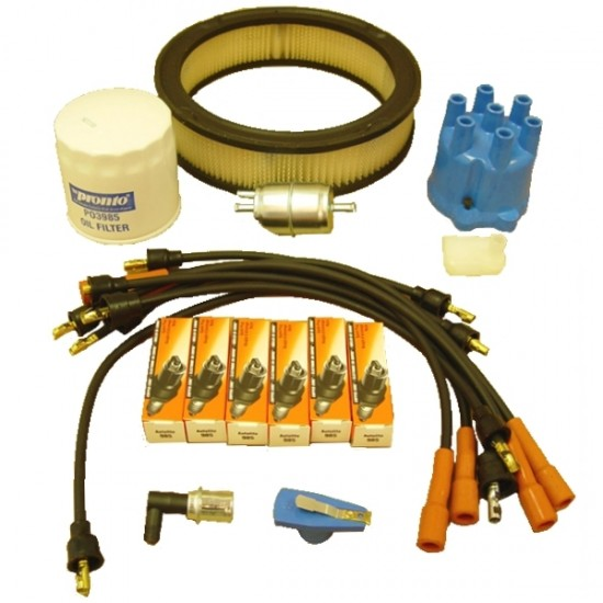 OMIX-ADA Jeep Wrangler YJ 87-90 Ignition Tune Up Kit (4.2L)