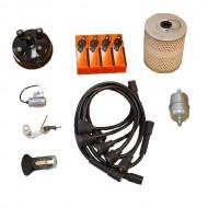 OMIX-ADA Jeep CJ2A, CJ3A 45-53 Ignition Tune Up Kit (134 CI)