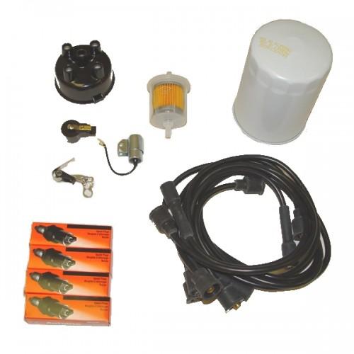 omix ada jeep cj5 cj6 64 71 ignition tune up kit 134 ci. Black Bedroom Furniture Sets. Home Design Ideas
