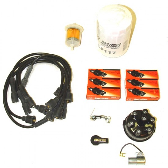 OMIX-ADA Jeep Truck Wagon 54-64 Ignition Tune Kit w/ Disposable Filter