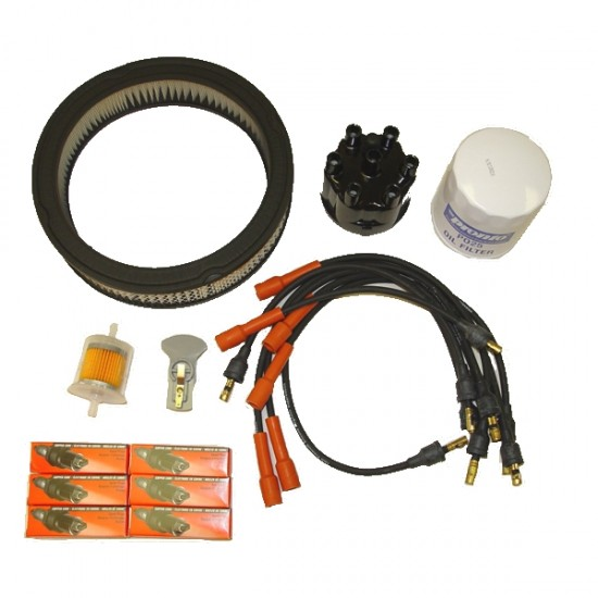 OMIX-ADA Jeep CJ5, CJ6, CJ7 75-77 Ignition Tune Up Kit (3.8L 4.2L)