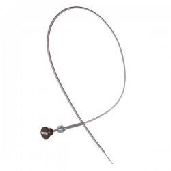 OMIX-ADA Willys, Jeep 41-71 Throttle Cable w/ Black Knob