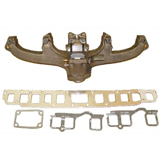OMIX-ADA Jeep CJ 72-80 Exhaust Manifold Kit (3.8L, 4.2L
