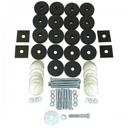 OMIX-ADA Willys, Jeep 41-75 Body Mounting Kit w/ Washers/Bolts