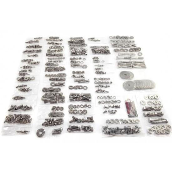 OMIX-ADA Jeep CJ8 81-86 Body Fastener Kit w/ Hard Top (714 Pieces)