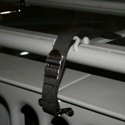 OMIX-ADA Willys, Jeep CJ, YJ, TJ 41-06 Windshield Tie Down Strap