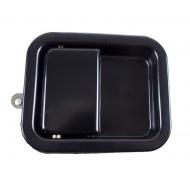 OMIX-ADA Jeep TJ/LJ, YJ, CJ Black Door Paddle Handle Full Steel Doors