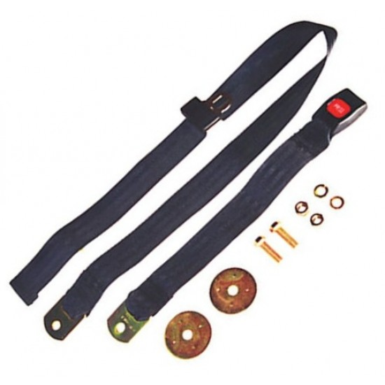 "OMIX-ADA Jeep 41-95 60"" Seat Belt Lap Belt (Black, Tan, Gray or Olive)"