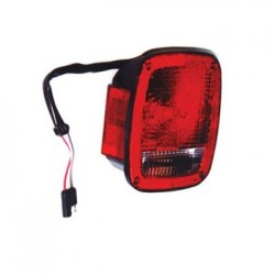 OMIX-ADA Jeep CJ 81-86 Tail Light Black Left or Right Side