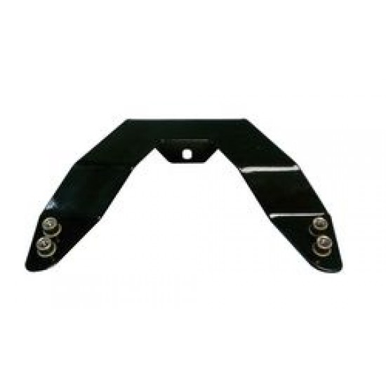 """Outland 3"""" Bull Bar License Mounting Plate"""