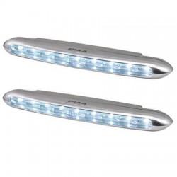 PIAA Deno 6 High Intensity LED Daytime Running Lamp Kit