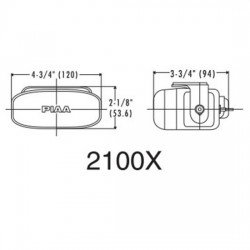 PIAA 2100XT Fog XTreme White Plus Halogen