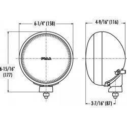PIAA 525 SMR Dual Beam Halogen Lamp Kit