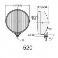 PIAA 520 Ion Yellow Fog Halogen Lamp Kit
