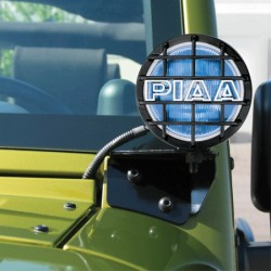 PIAA Jeep JK 07-Up 540 Driving Lamps Window Mount Kit