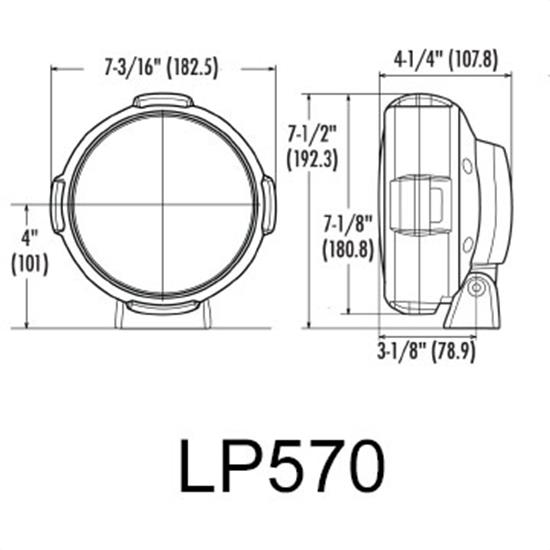 piaa lp 570 high intensity led driving light kit