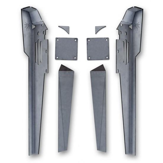 Poison Spyder YJ 87-95 Cage Lower A-Pillar Kit