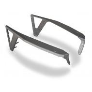 Poison Spyder Jeep TJ/LJ DeFenders - Negative Flares (Steel)