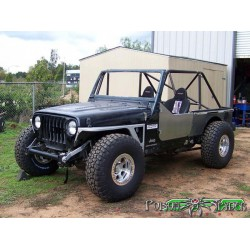 Poison Spyder Jeep TJ/LJ DeFenders - Zero Flares (Steel)