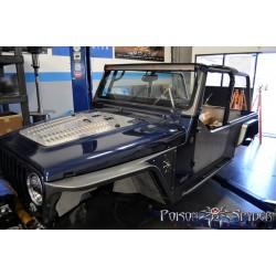 """Poison Spyder Jeep TJ/LJ DeFender XC High-Line - 3"""" (Steel)"""