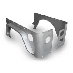 "Poison Spyder LJ Crusher Corners with 3"" DeFender (Steel or Aluminum)"