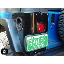 Poison Spyder TJ Trail Corners