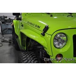Poison Spyder JK Front Crusher Flares Narrow Width Aluminum