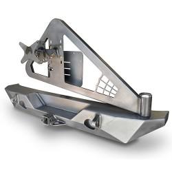 Poison Spyder JK RockBrawler II Rear Bumper with Tire Carrier