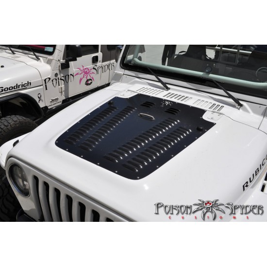Poison Spyder Jeep TJ 97-02 Hood Louver