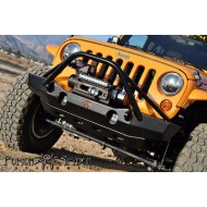 Poison Spyder Jeep JK Brawler MID Front Bumper with Brawler Bar