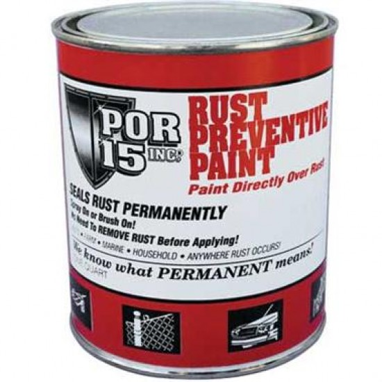 POR-15 Rust Preventive Coating Gloss Black (Gallon)