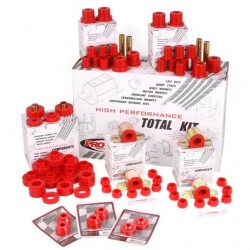 Prothane Jeep CJ 76-79 Complete Polyurethane Kit (Black or Red)