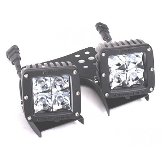 Rigid Industries Dually and D2 ATV Mount (pair)