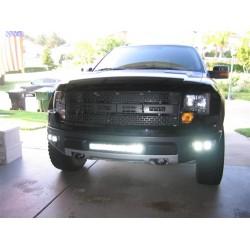 Rigid Industries Ford Raptor Fog Mount for 4 Dually Lights
