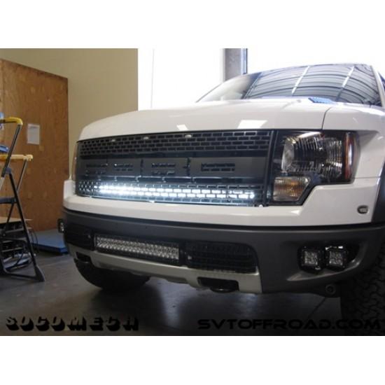 "Rigid Industries Ford Raptor 40"" Light Bar Upper Grill Mount"