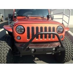 "Rigid Industries Jeep JK Hood Mount Kit for 20"" E/SR Series Light Bar"