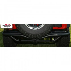 Rugged Ridge Jeep Wrangler JK Rear 07-Up RRC Bumper w/ Hitch