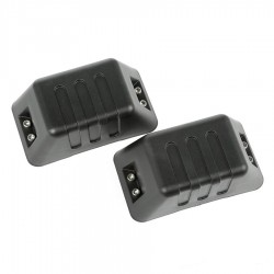 Rugged Ridge Jeep Wrangler JK 07-15 XHD Bumper Tow Point Covers