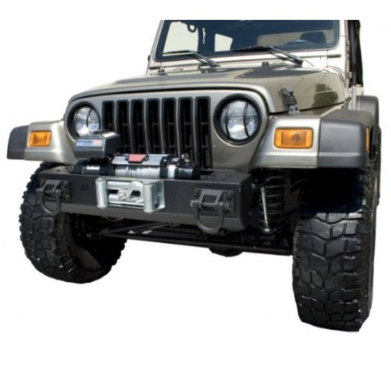 Rugged Ridge Jeep TJ/LJ, YJ, CJ XHD Front Bumper Base w/ Winch Mount
