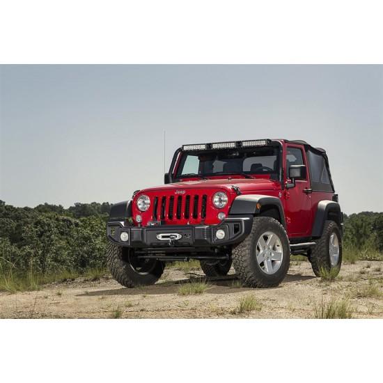 Rugged Ridge Jeep Wrangler JK 07-Up Spartacus Front Bumper (Satin Black)