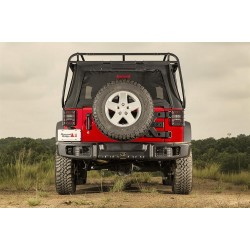 Rugged Ridge Jeep Wrangler JK 07-Up Spartacus Rear Bumper (Black)
