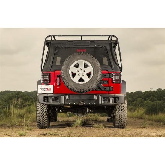 Rugged Ridge Jeep Wrangler JK 07-Up Spartacus Rear Bumper (Black)