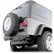 Rugged Ridge Jeep Wrangler TJ/LJ Heavy Duty Rock Crawler Rear Bumper
