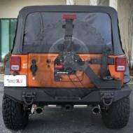 Rugged Ridge Jeep Wrangler JK 07-Up XHD Rear Bumper Tire Carrier Gen II