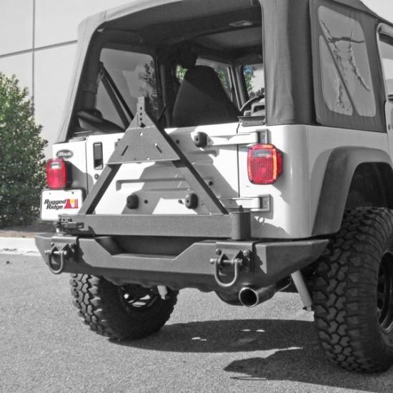 Rugged Ridge Jeep TJ/LJ, YJ, CJ 76-86 XHD Rear Bumper