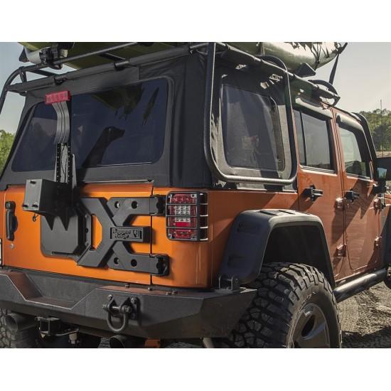Rugged Ridge Jeep Wrangler JK 07-Up Spartacus Heavy Duty Tire Carrier Kit